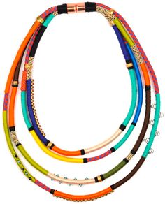 Holst+Lee colourful necklace