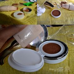 DIY Cushion Makeup ^_^