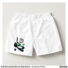 Golf Shoes Ball Gloves Club Driver With Your Name Boxers