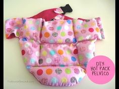 Hot pack para dolor pelvico Hot, Scrub Caps, Backrest Pillow, Packing, Sewing, Simple, Tutorial, Pattern, How To Make