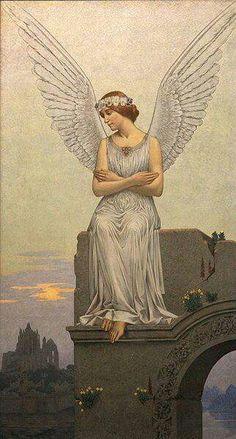Artesplorando: Alexandre Seon, tra simbolismo ed esoterismo Seraph Angel, Rose Croix, Kobold, I Believe In Angels, Ange Demon, My Guardian Angel, Angels Among Us, Angel Pictures, Angels In Heaven