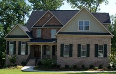 When it comes to building a home, there's nothing quite like brick. This home features jack arches and soldier course accent bands for instant curb appeal. And because it's built with brick, it's not only gorgeous, it's also durable. http://insistonbrick.com/