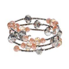 Simply Vera Vera Wang Bead Coil Bracelet