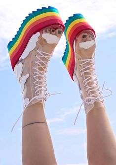 These shoes by Dollskill are sick, I WANT THEM