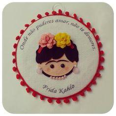 Bastidor Frida Kahlo Na loja: www.elo7.com.br/timart