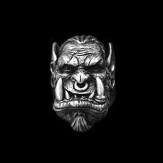 World of Warcraft Durotan frost wolf clan chiefs 925 silver rings SSJ132