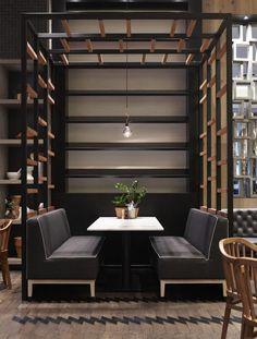 The Cotta Cafe in Melbourne, Australia, designed by Mim Design