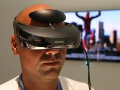 Sony HMZ-T3W Head Mounted Display