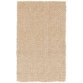 Found it at DwellStudio - Diamond Jute Camel Rug