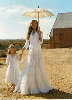 Life in the outback - Australian Marie Claire.  Shades of PICNIC AT HANGING ROCK..