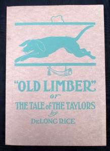 Old Limber Tale of The Taylors Hardcover Book by PeggysAntiques