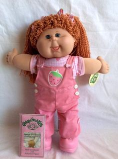 Cabbage Patch Kids Clothes, Cabbage Patch Kids Dolls, Retro Toys, Vintage Toys, Childhood Toys, Childhood Memories, Muñecas Cabbage, Girl Dolls, Baby Dolls
