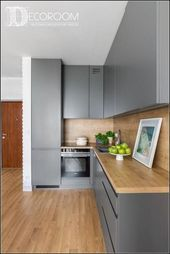 181 smart ways to make the most of a small kitchen ideas 30 Modern Kitchen Cabinets Ideas Kitchen small Smart ways Kitchen Room Design, Kitchen Cabinet Design, Modern Kitchen Design, Home Decor Kitchen, Interior Design Kitchen, New Kitchen, Kitchen Ideas, Kitchen Small, Smart Kitchen