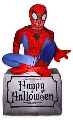 7 ft Spider-Man /& Dr Octopus Inflatable Christmas Yard Decor