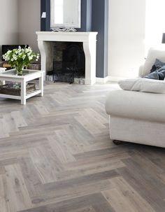 Gerookte visgraat houten vloer - www.fairwood.nl