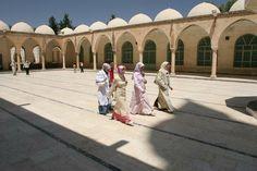 Colonnaded courtyard, Turkey