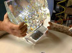 Post with 9499 votes and 491480 views. Tagged with , , Awesome, , ; This Guy Create Glass Sculptures Using Fibonacci Ratios Jack Storms, Cubist Sculpture, Weird Gif, Glass Partition, Blown Glass Art, Glass Artwork, Recycled Glass, Geometric Shapes, How To Dry Basil