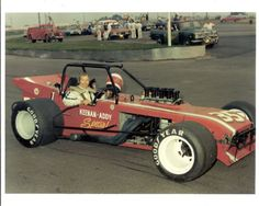 Johnny Logan In a supermodified.  Vintage racing photo.  Identify the track for a free Gear Headz Products tee shirt.  How cool is that???
