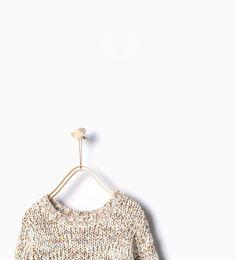 ZARA - KIDS - Multicolored knit sweater