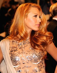 Make-up for Redheads: Blake Lively