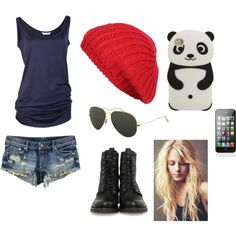 """being mobbed by Fans"" by samanthagordon on Polyvore"