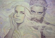 Of Aule and Yavanna by kimberly80.deviantart.com on @deviantART