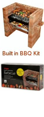 Built in Brick BBQ
