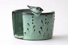 sponge holder! Back Bay Pottery