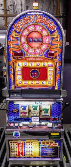 "IGT S-2000 BARCREST REEL SLOT MACHINE: ""GOLDEN DRAGON"" w/ TITO!"