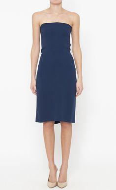 Calvin Klein Collection Navy Dress