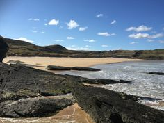 Strathy beach Thurso Scotland
