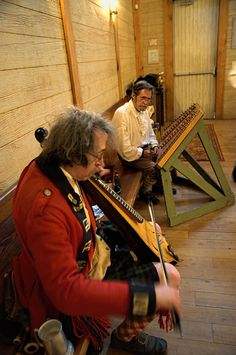 Ken Bloom and Jim McGaw provide the music for the Under the Crown Dinner (2014) at the Living History Park in North Augusta, SC http://www.colonialtimes.us