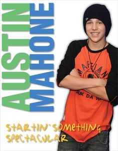 Austin Mahone : Startin' Something Spectacular | Triumph Books | Bookish.com || This book is the perfect present for tween girls and guys #Mahomies