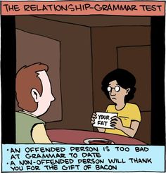 Going on a first date? Try this simple test to determine if you're grammatically compatible.