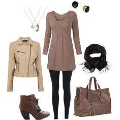 """Winter School Outfit"" by jenn-stern on Polyvore"
