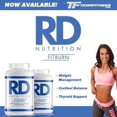 RD Nutrition FitBurn is formulated to provide scientifically-validated doses of proven ingredients to help with Appetite Control, Weight Management, Cortisol Balance and Thyroid Support. FitBurn supports Healthy Insulin Resistance, Glucose Metabolism, Heart Health and Immune System Health. By addressing multiple factors involved in fat loss, FitBurn is the fat loss formula that can help you reach your goals. Designed by Registered Dietitian Kara Corey for maximum results.