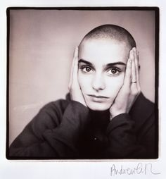 Sinéad O'Connor - 1988 - photo by Andrew Catlin (National Portrait Gallery)