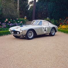 The 1961 Ferrarri 250 GT SWB Berlinetta