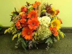 Thanksgiving Floral Arrangements | Florist | Fairfield, CT - YouTube
