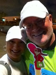 Flat Gloria with our Founder, President & CEO and his wife at the San Antonio Komen Race for the Cure