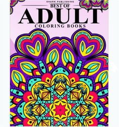 Colorama Mandala Coloring Books Adults Relaxation Stress Relieving Patterns