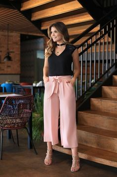 43 Trendy Ladies Summer Palazzo Styles and Designs to Upgrade Your Wardrobe Now Casual Work Outfit Summer, Casual Fall Outfits, Classy Outfits, Trendy Outfits, Plazzo Pants Outfit, Culottes Outfit, Modest Dresses, Casual Dresses, Fashion Dresses