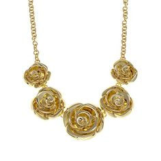 """Roberto by RFM """"Beauty and the Rose"""" Necklace"""
