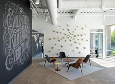 Air Plant Wall At Evernote: Design Milk