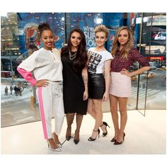 Little mix news ❤ liked on Polyvore featuring little mix and celebs