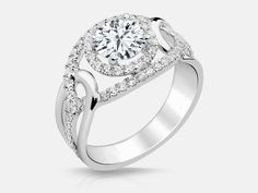 Nothing's sweeter than the 'Virginia' ring from the Naledi Engagement Ring Collection