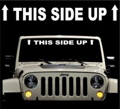 It/'s a Jeep thing 22/'/' decal vinyl car sticker diesel window banner rubicon