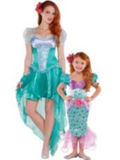 Ariel The Little Mermaid Mommy and Me Costumes...idea for this year