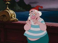 #7- Favorite Disney Sidekick- Mr. Smee  (30 Day Disney Challenge in 1 Day)