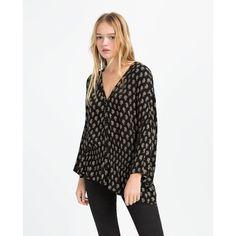 Zara Tunic With Elastic Waist (2.375 RUB) ❤ liked on Polyvore featuring tops, tunics, white tunic, zara tunic, elastic waist tops, zara top and white top
